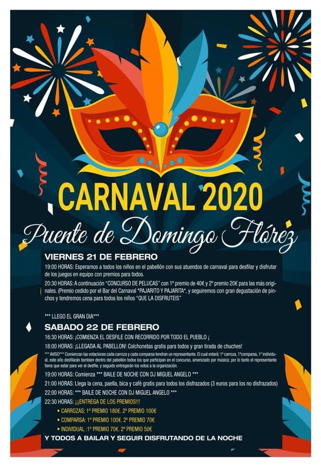 Carnaval 2020 en Puente de Domingo Flórez 2