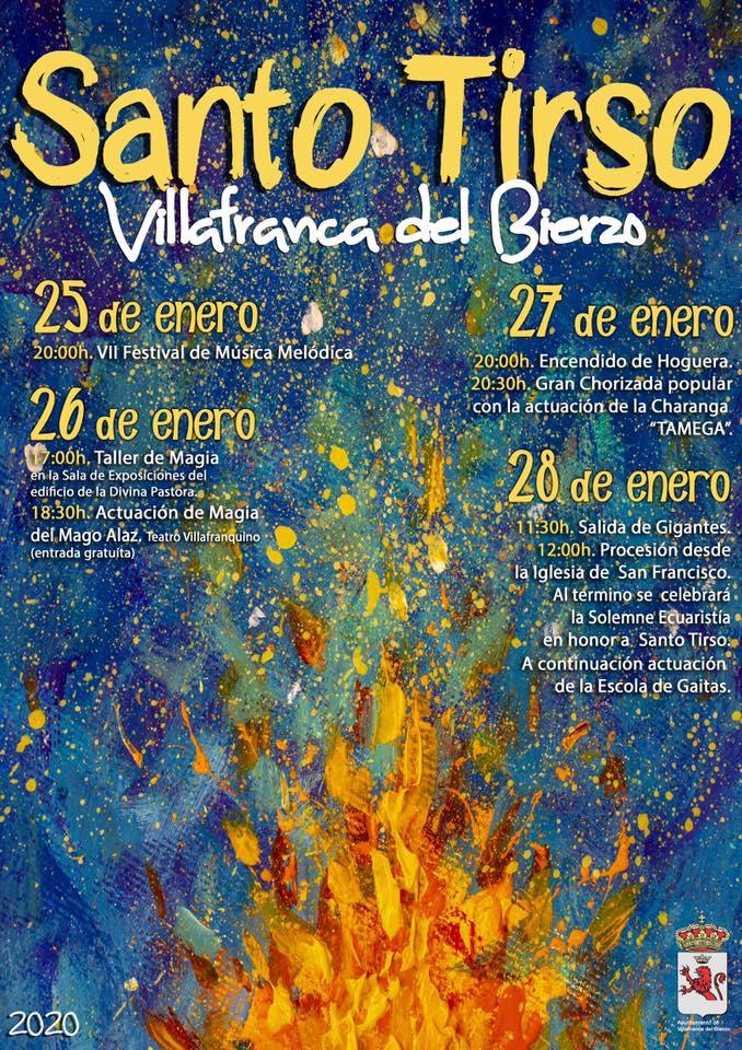 Santo Tirso 2020 en Villafranca del Bierzo 2