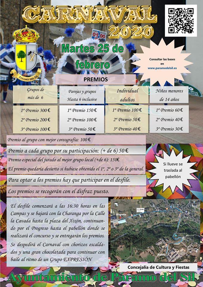 Carnaval 2020 en Páramo del Sil 2