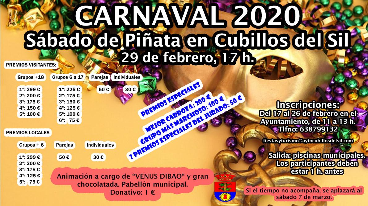 Carnaval 2020 en Cubillos del Sil 2