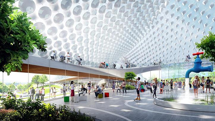 Así será la espectacular sede de Le Monde cubierta con vidrio 'Made in Bierzo' 4