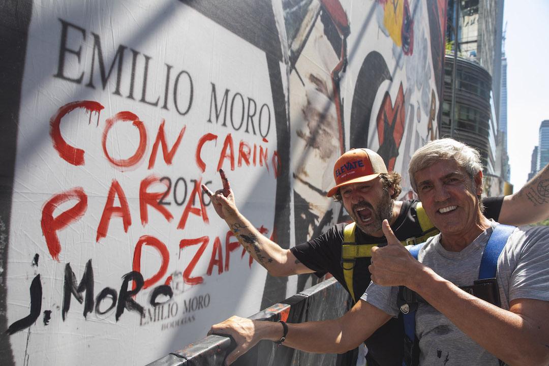 El prestigioso pintor Domingo Zapata visita el Bierzo 2