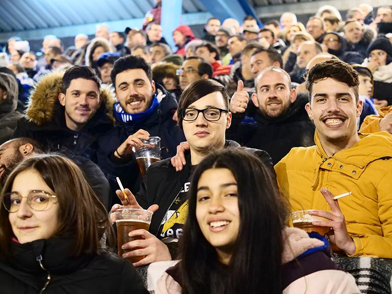 Fotogalería del partido Ponferradina - Rayo Vallecano 36