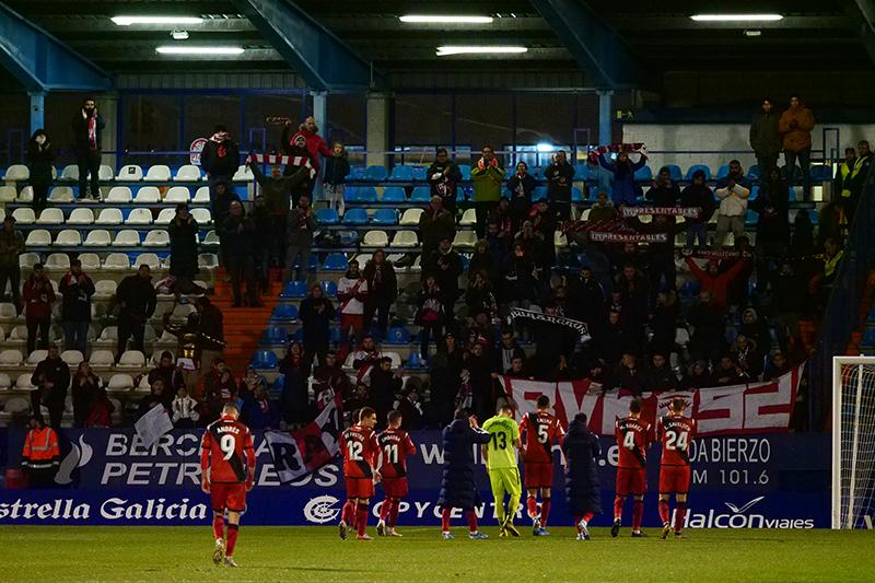 Fotogalería del partido Ponferradina - Rayo Vallecano 45