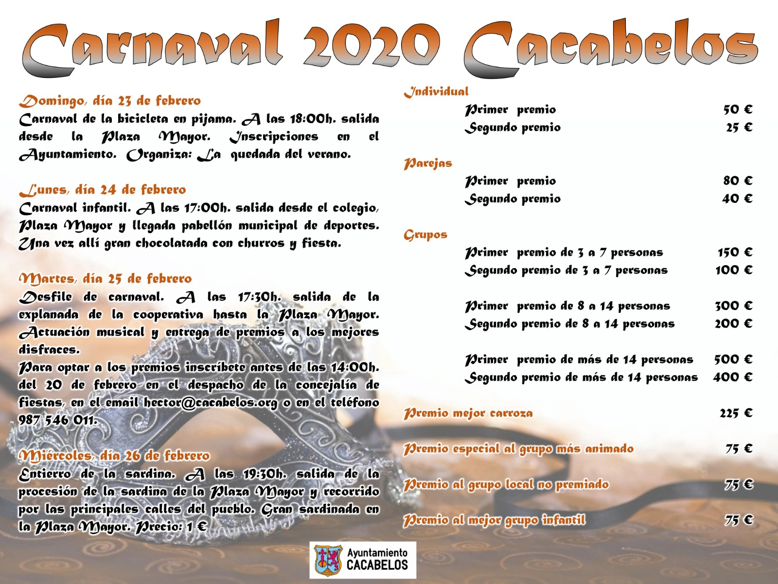Carnaval 2020 en Cacabelos 2