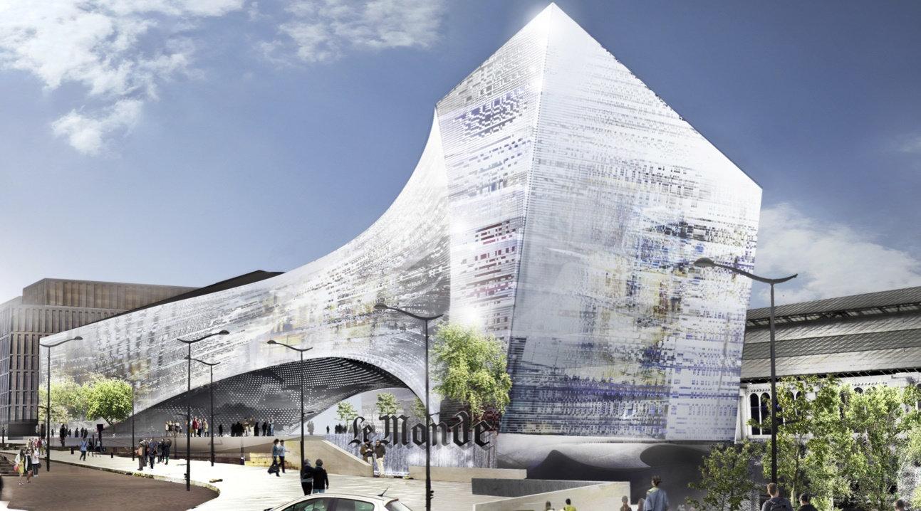 Así será la espectacular sede de Le Monde cubierta con vidrio 'Made in Bierzo' 3