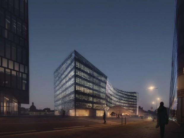 Así será la espectacular sede de Le Monde cubierta con vidrio 'Made in Bierzo' 2
