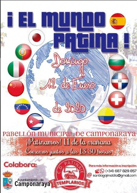 El Club de Patinaje Templarios organiza este domingo un gran encuentro en Camponaraya 2