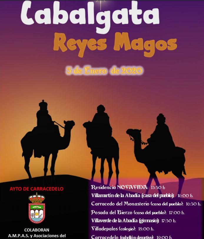 Recorrido y horarios de las Cabalgatas de Reyes 2020 en Ponferrada y El Bierzo 3