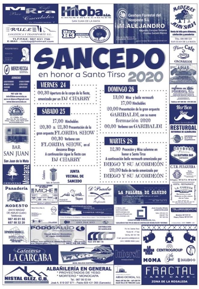 Fiestas en honor a Santo Tirso en Sancedo 2