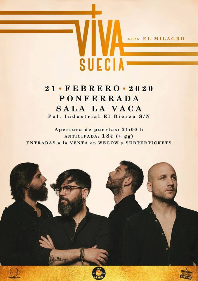 Viva Suecia presenta 'El Milagro' este Viernes en Ponferrada 2