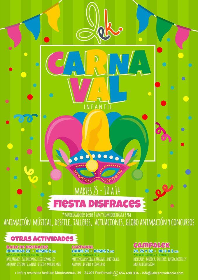 Carnaval 2020 con niños en el Bierzo 2