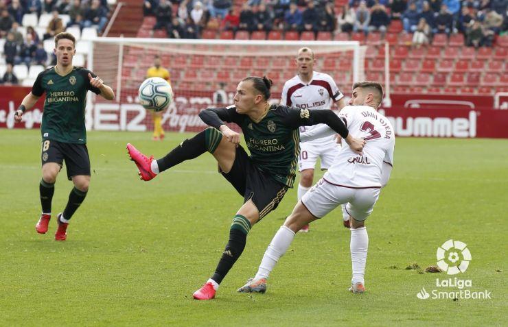 La Deportiva se deja la victoria en tiempo de descuento en casa de un gris Albacete (1-1) 2
