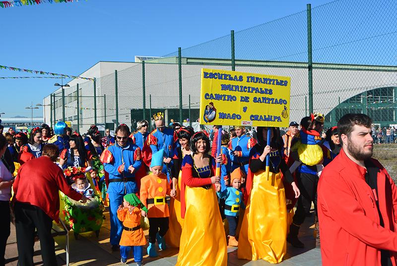 Ponferrada llena las calles de ilusión en el Carnaval infantil 2020 3