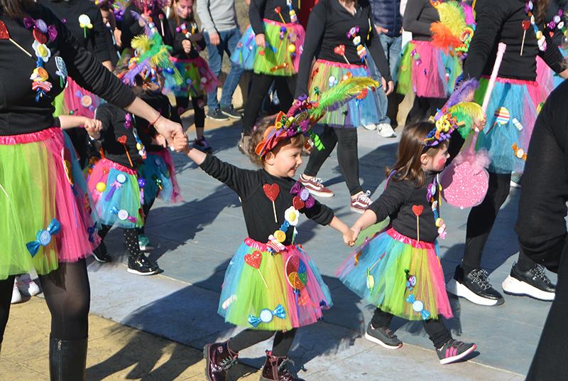 Ponferrada llena las calles de ilusión en el Carnaval infantil 2020 17