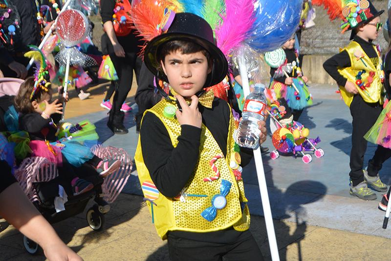 Ponferrada llena las calles de ilusión en el Carnaval infantil 2020 21