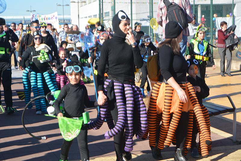 Ponferrada llena las calles de ilusión en el Carnaval infantil 2020 27