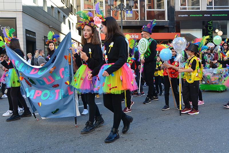 Ponferrada llena las calles de ilusión en el Carnaval infantil 2020 43