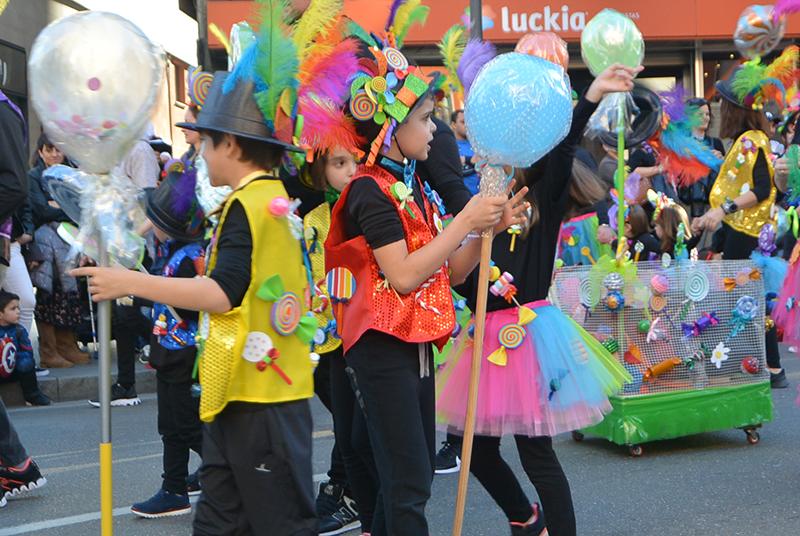 Ponferrada llena las calles de ilusión en el Carnaval infantil 2020 44