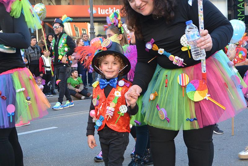 Ponferrada llena las calles de ilusión en el Carnaval infantil 2020 45
