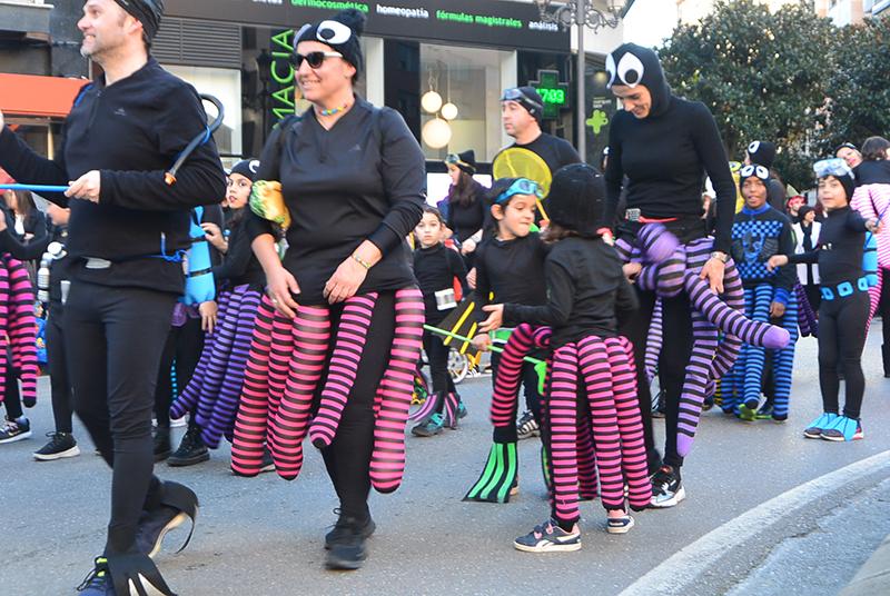 Ponferrada llena las calles de ilusión en el Carnaval infantil 2020 50