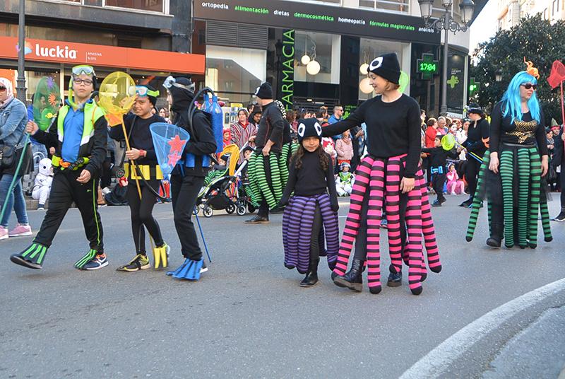 Ponferrada llena las calles de ilusión en el Carnaval infantil 2020 52