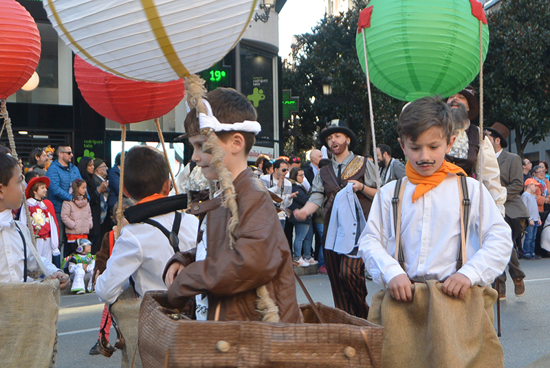 Ponferrada llena las calles de ilusión en el Carnaval infantil 2020 56
