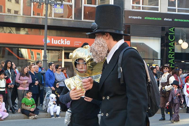 Ponferrada llena las calles de ilusión en el Carnaval infantil 2020 59