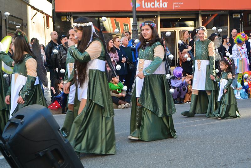 Ponferrada llena las calles de ilusión en el Carnaval infantil 2020 63