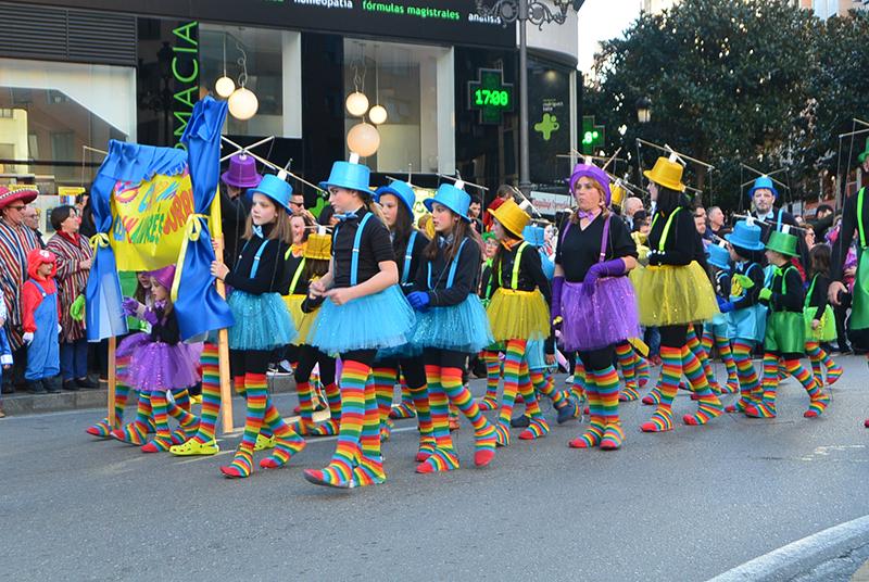 Ponferrada llena las calles de ilusión en el Carnaval infantil 2020 65