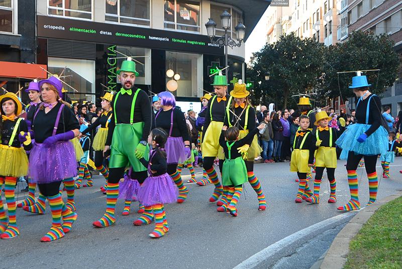 Ponferrada llena las calles de ilusión en el Carnaval infantil 2020 66