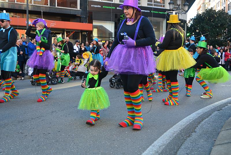 Ponferrada llena las calles de ilusión en el Carnaval infantil 2020 69