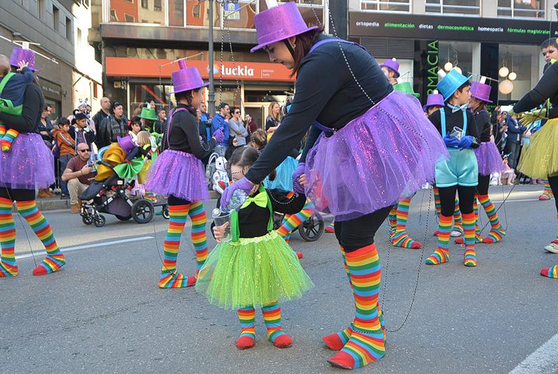 Ponferrada llena las calles de ilusión en el Carnaval infantil 2020 70