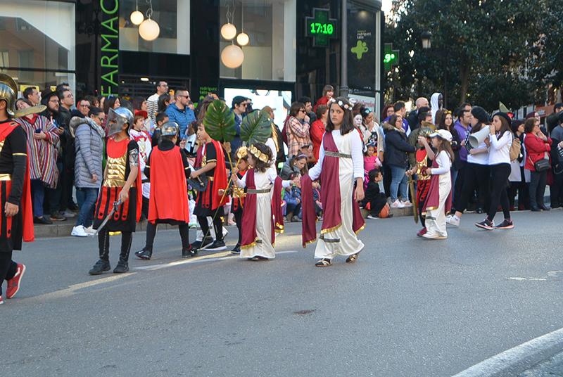 Ponferrada llena las calles de ilusión en el Carnaval infantil 2020 72