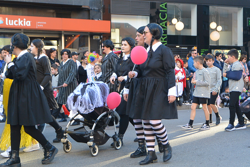 Ponferrada llena las calles de ilusión en el Carnaval infantil 2020 80