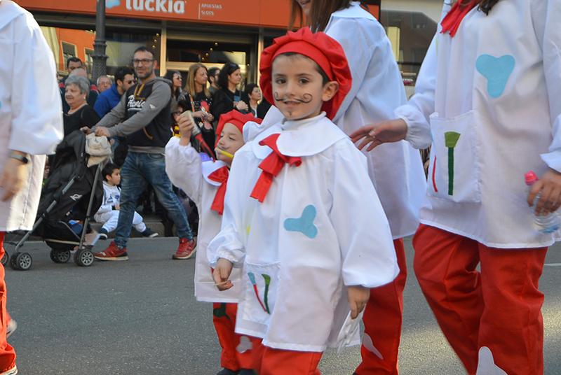Ponferrada llena las calles de ilusión en el Carnaval infantil 2020 84