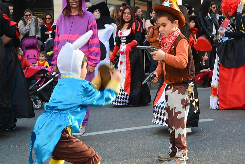 Ponferrada llena las calles de ilusión en el Carnaval infantil 2020 87