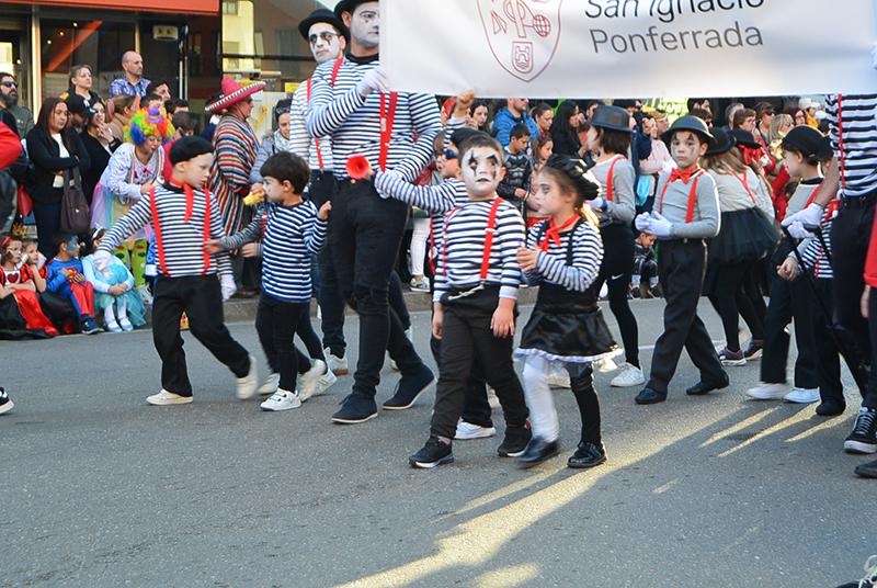 Ponferrada llena las calles de ilusión en el Carnaval infantil 2020 92