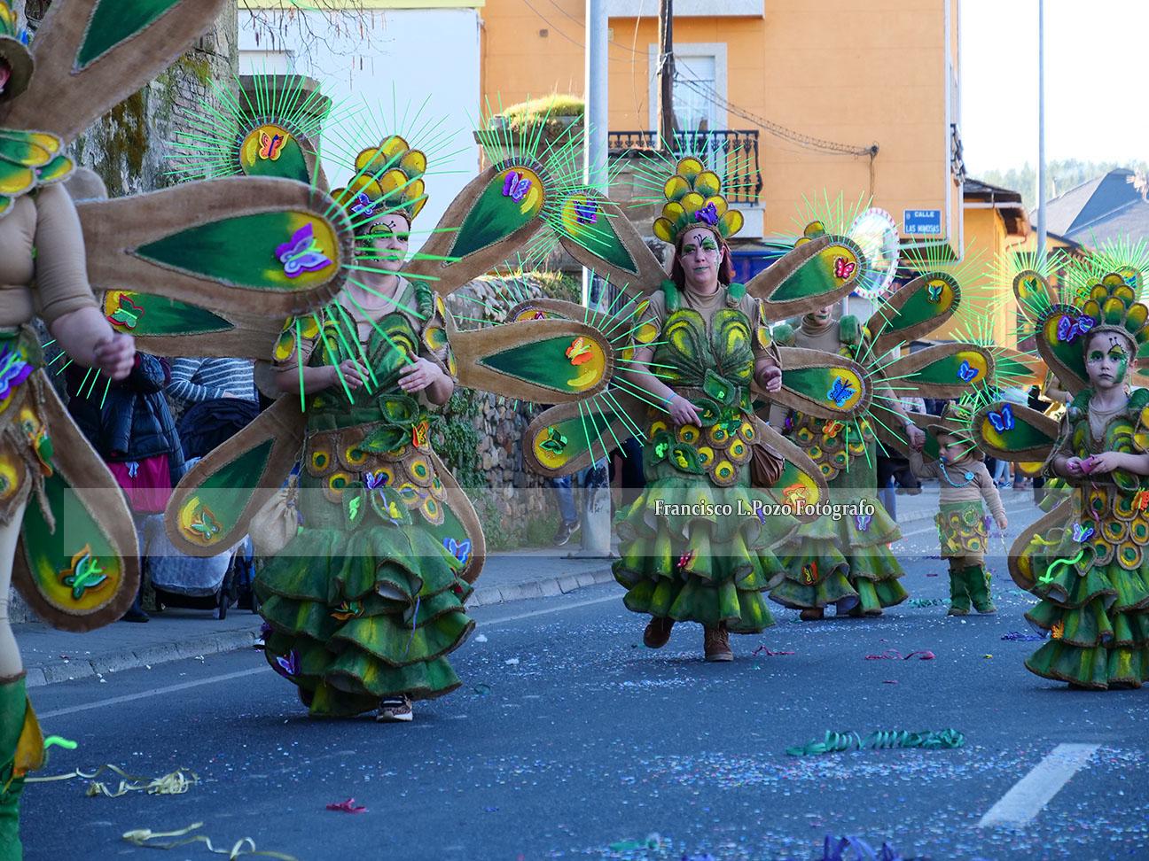 Carnaval 2020: Camponaraya sale a la calle a ritmo de comparsa 8