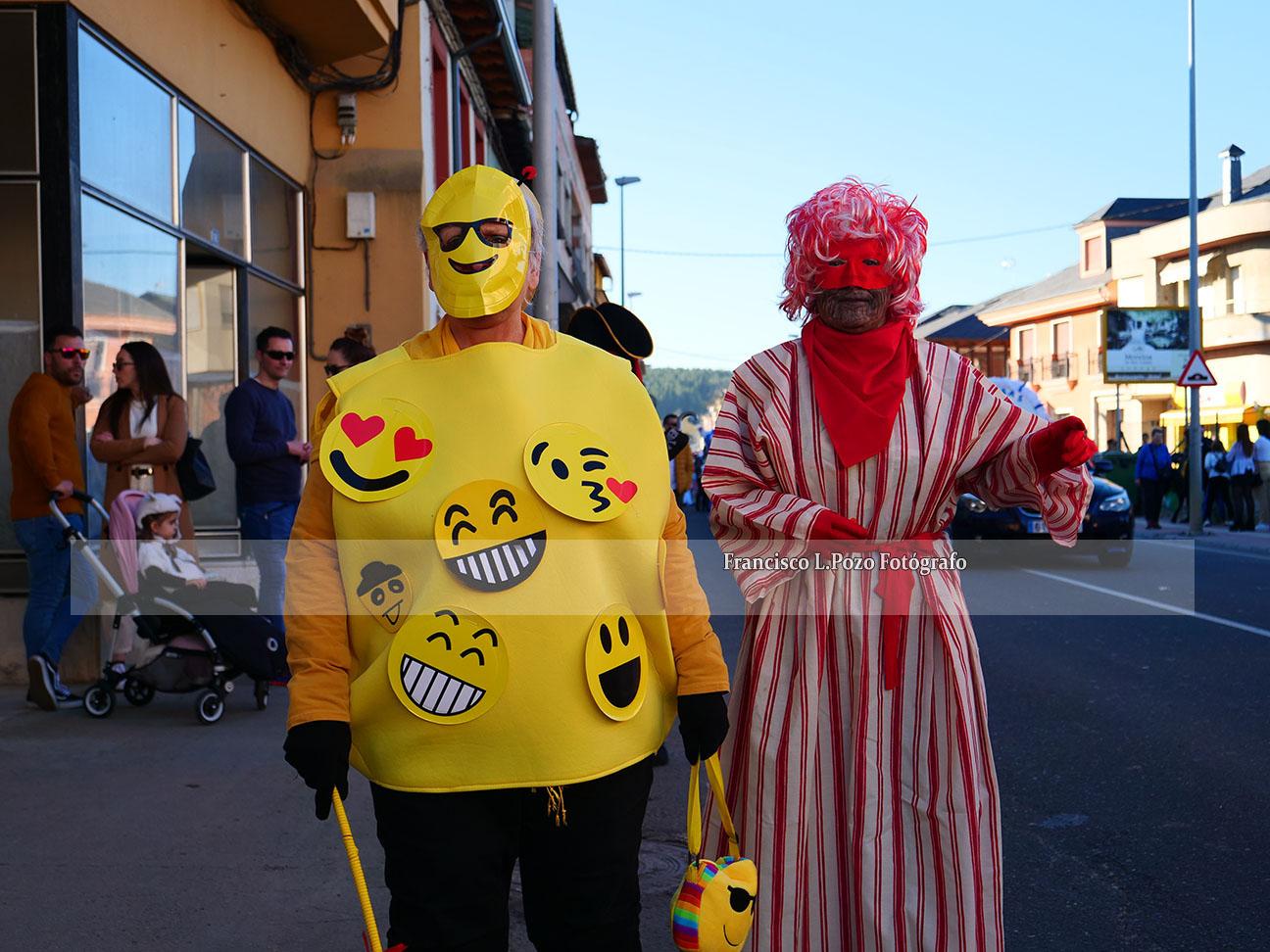 Carnaval 2020: Camponaraya sale a la calle a ritmo de comparsa 21