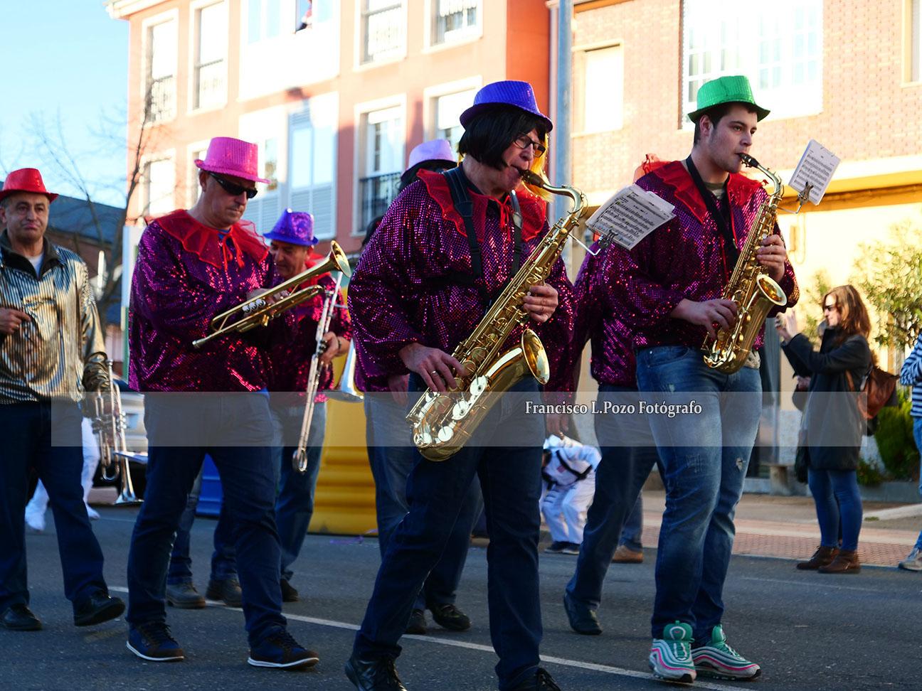 Carnaval 2020: Camponaraya sale a la calle a ritmo de comparsa 41