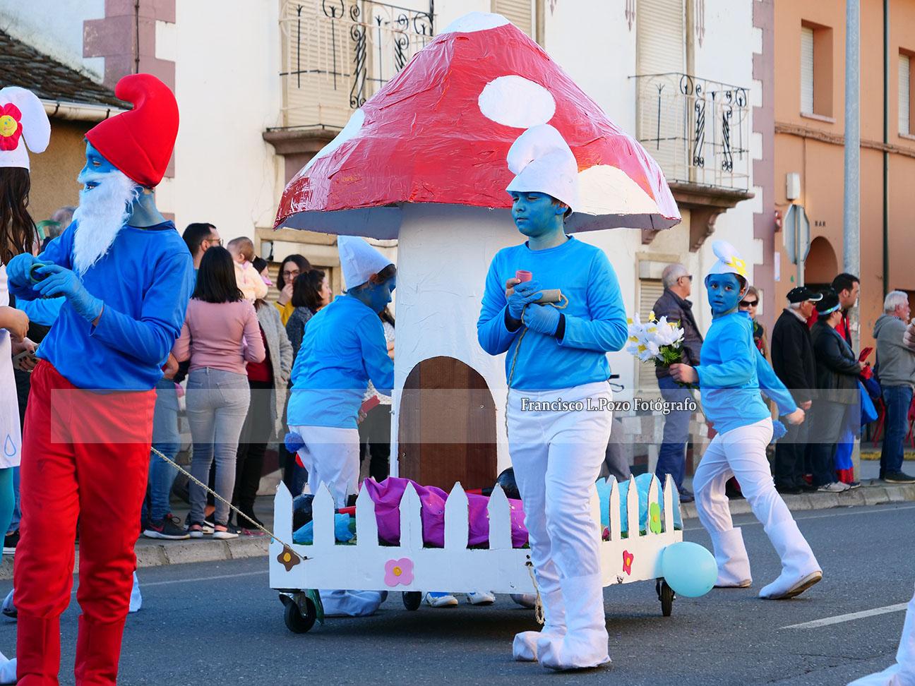 Carnaval 2020: Camponaraya sale a la calle a ritmo de comparsa 47