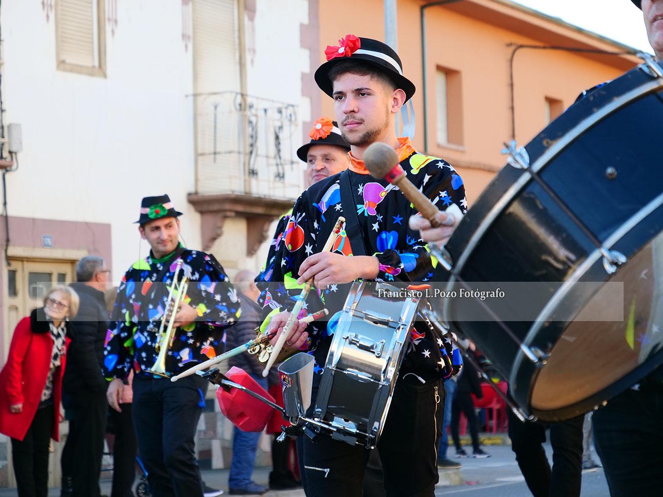 Carnaval 2020: Camponaraya sale a la calle a ritmo de comparsa 53