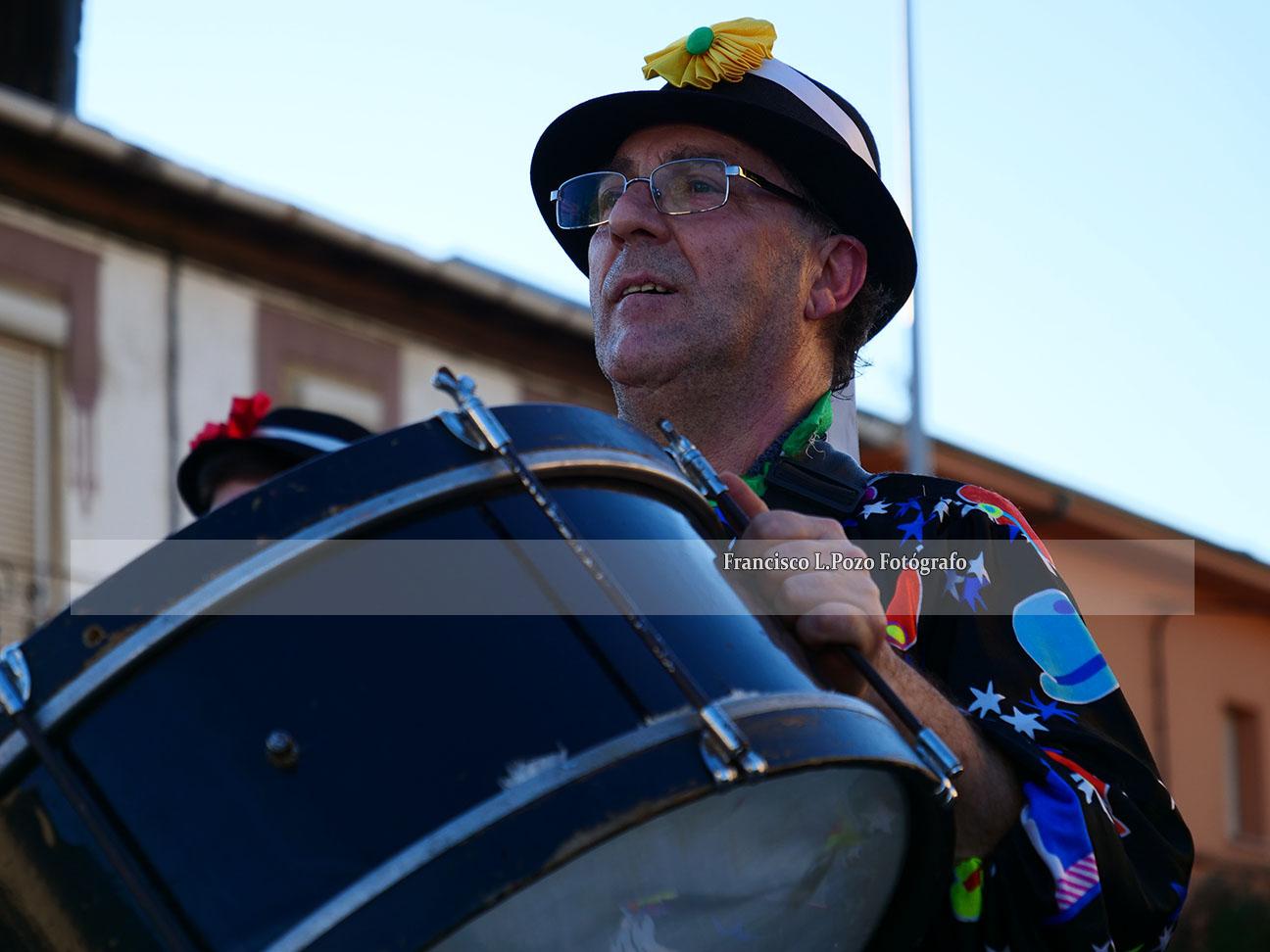 Carnaval 2020: Camponaraya sale a la calle a ritmo de comparsa 54