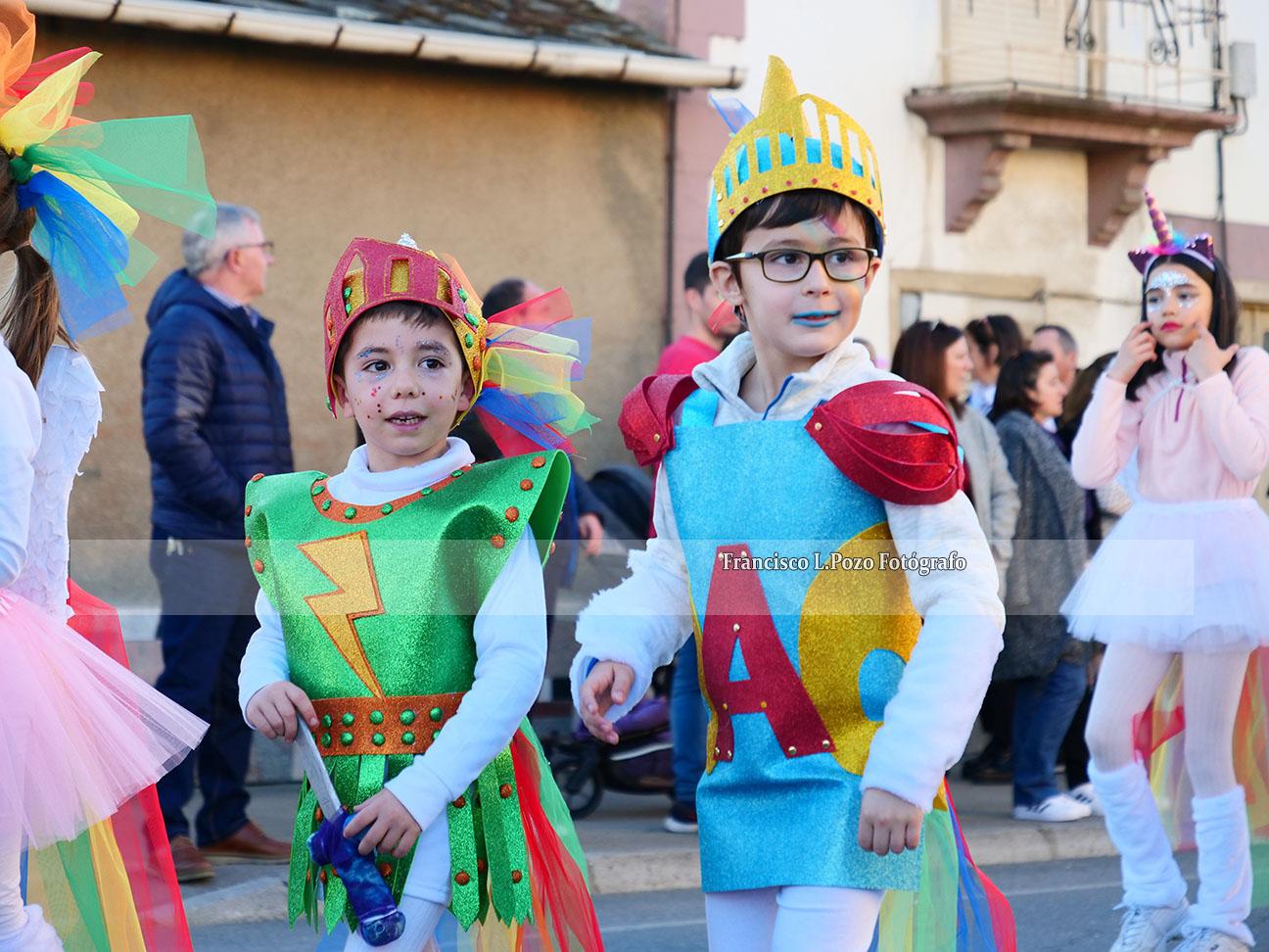 Carnaval 2020: Camponaraya sale a la calle a ritmo de comparsa 62