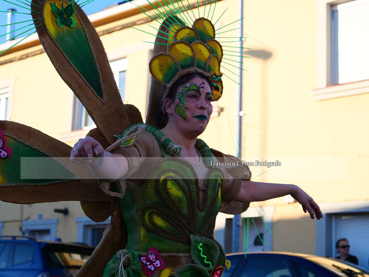 Carnaval 2020: Camponaraya sale a la calle a ritmo de comparsa 92