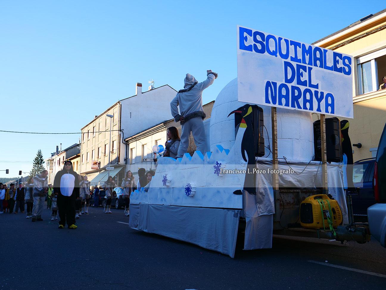 Carnaval 2020: Camponaraya sale a la calle a ritmo de comparsa 102