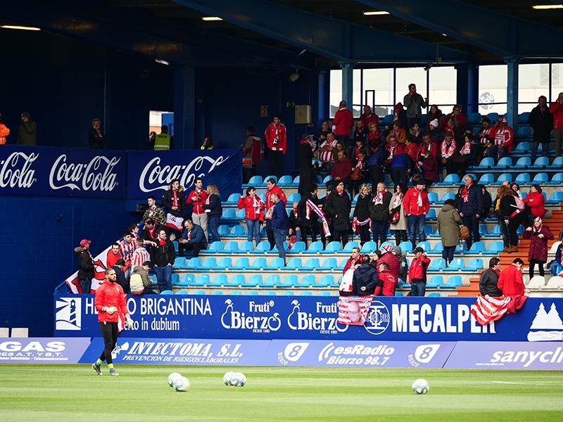 El álbum del partido Ponferradina - Sporting (1-0) 46