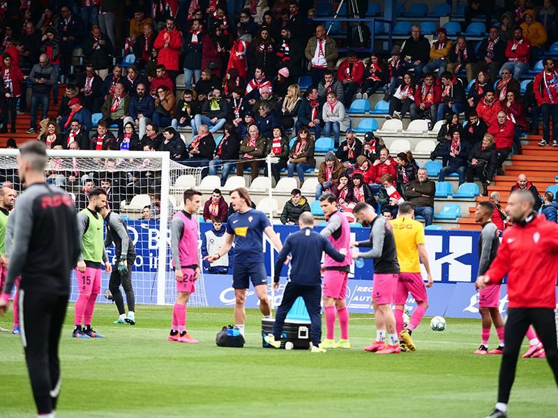 El álbum del partido Ponferradina - Sporting (1-0) 134