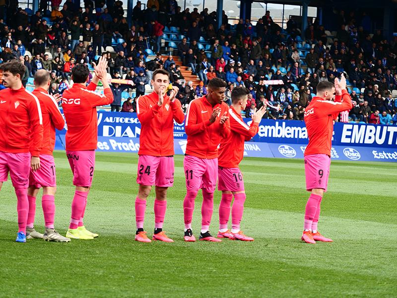 El álbum del partido Ponferradina - Sporting (1-0) 174